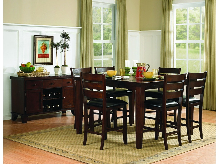 Homelegance Dining Room Counter Height Table 586 36 Red Door