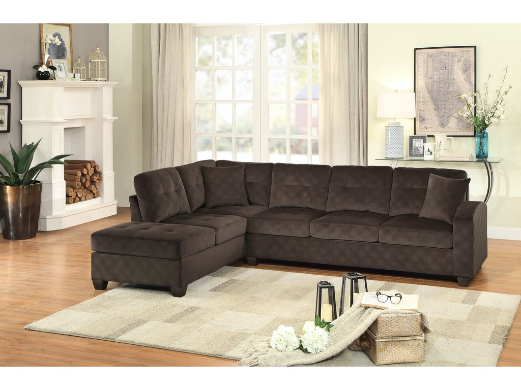 Homelegance Living Room 8367ch Sectional D Noblin Furniture Pearl And Jackson Ms