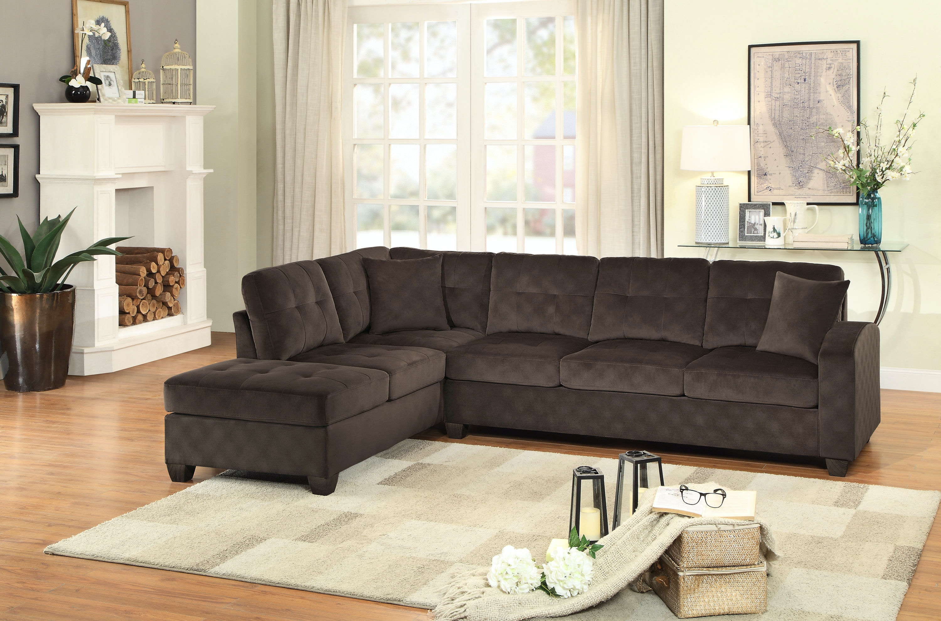 Homelegance Living Room 8367CH Sectional   D Noblin Furniture   Pearl And  Jackson, MS