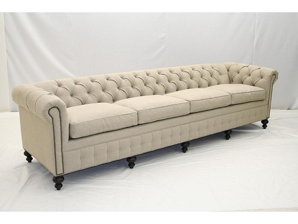 old hickory tannery living room tufted sofa 1148 04