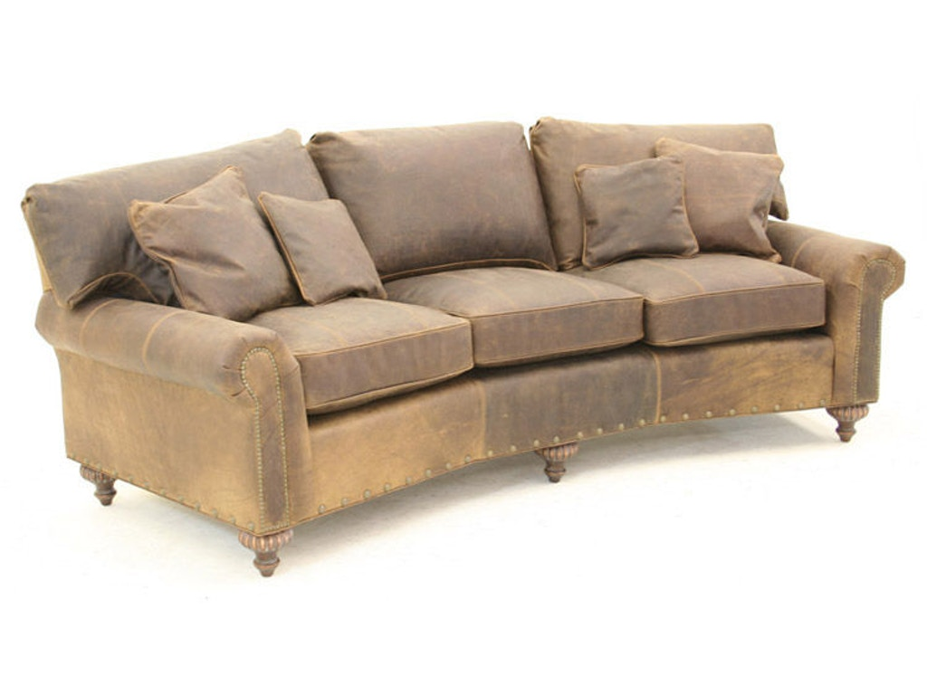 Old Hickory Tannery Living Room Sofa 1625 03 Priba Furniture And Interiors Greensboro North