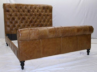 King Tufted Bed