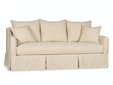 Paul Robert Sofa Slipcover 122 SKIRTED SLIP
