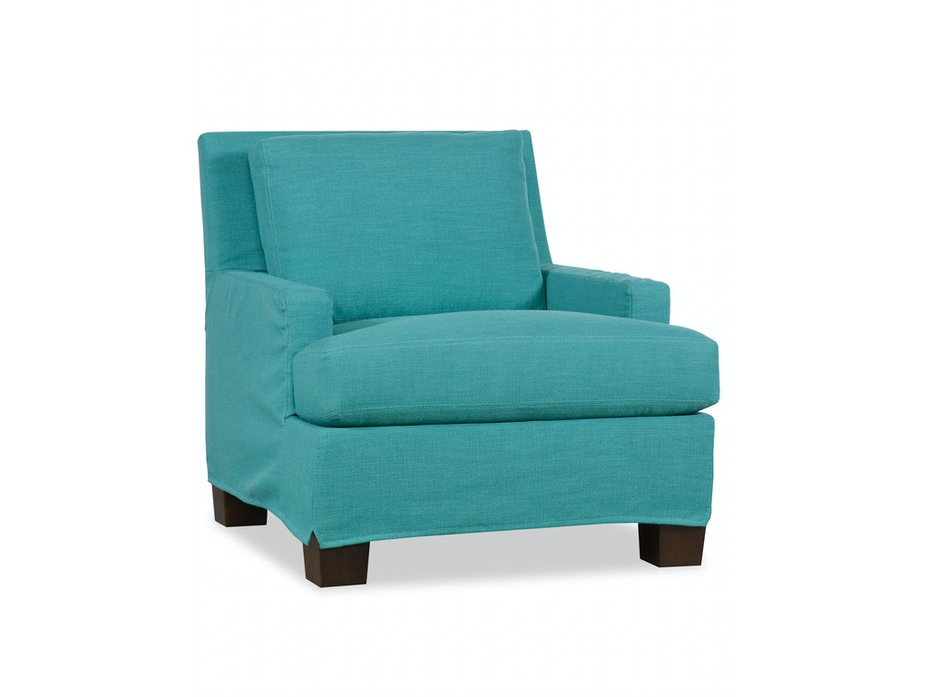 Paul robert living room chair slipcover 671 10 short slip - Slipcovers for living room furniture ...
