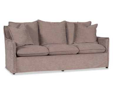 Feeling young and hip? For a more contemporary design this slipcover has a special lip stitch.