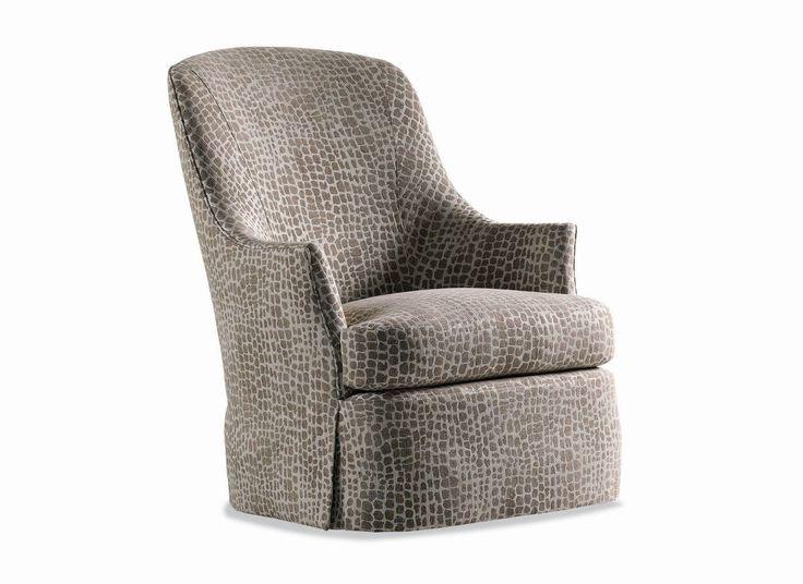 Jessica Charles Gable Swivel Chair 271 S