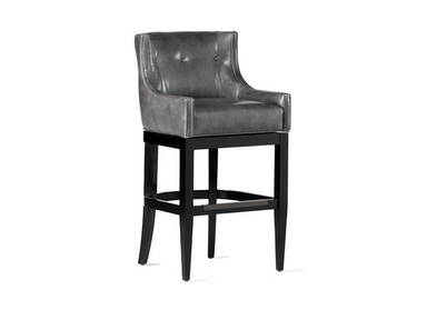 Jessica Charles Lexi Memory Swivel Bar Stool