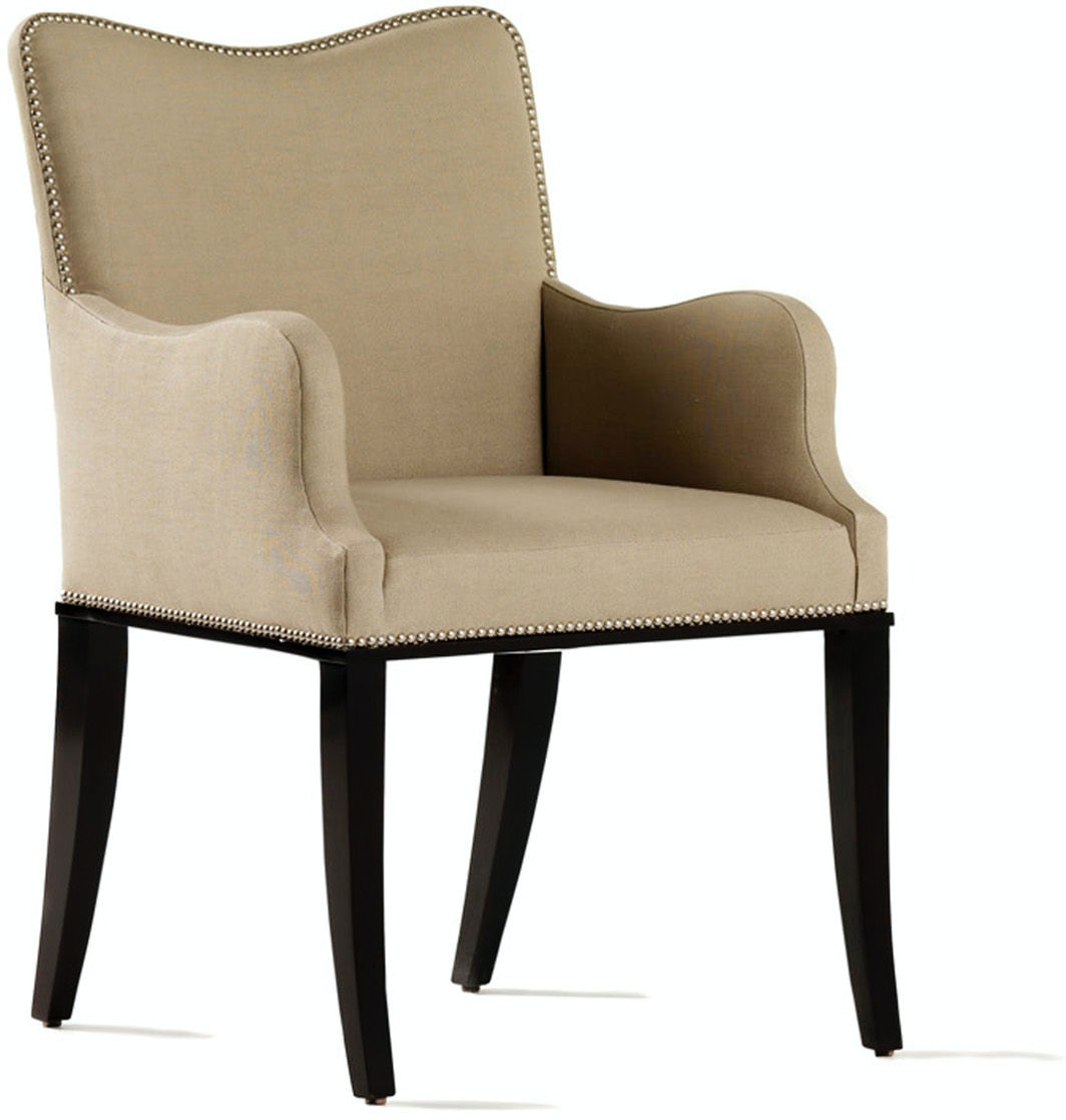 Jessica Charles Dining Room Preston Arm Dining Chair 1103 ...