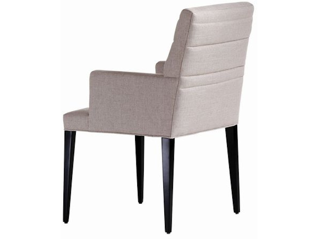 Jessica charles dining room sabrina quilted arm dining - Norris furniture interiors fort myers fl ...