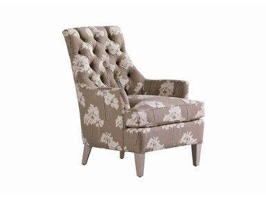 Jessica Charles Hollans Tufted Chair 113-T