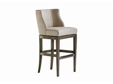 Jessica Charles Oscar Memory Swivel Bar Stool