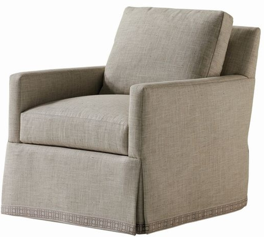 Jessica Charles Living Room Hansen Swivel Chair 285 S Eldredge