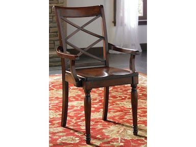 aspenhome Dining Room Double X Arm Chair(2/Ctn)