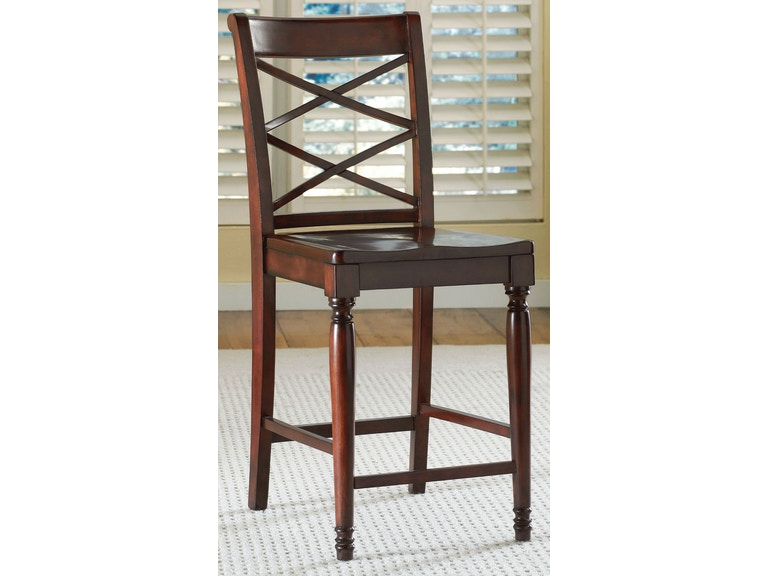 aspen home Counter Height Double X Chair ICB-6671S-BCH