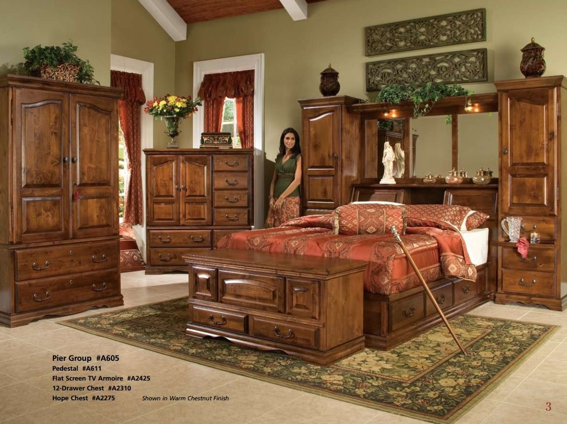 Furniture Traditions Flat Screen TV Armoire A2425