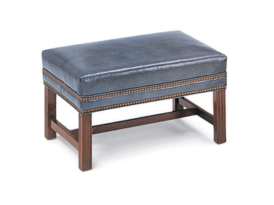 Hancock and Moore Chippendale Ottoman 052