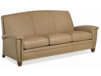 French Curve Quilted Sofa