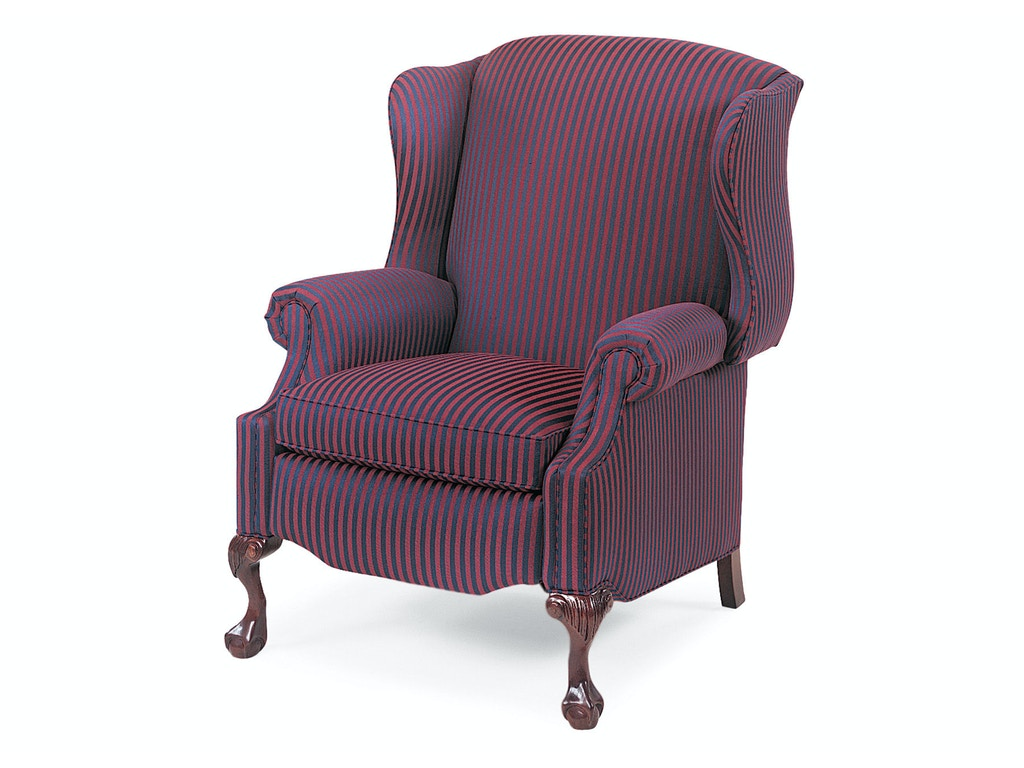 Hancock and moore living room sterling wing chair power for Wing chairs for living room