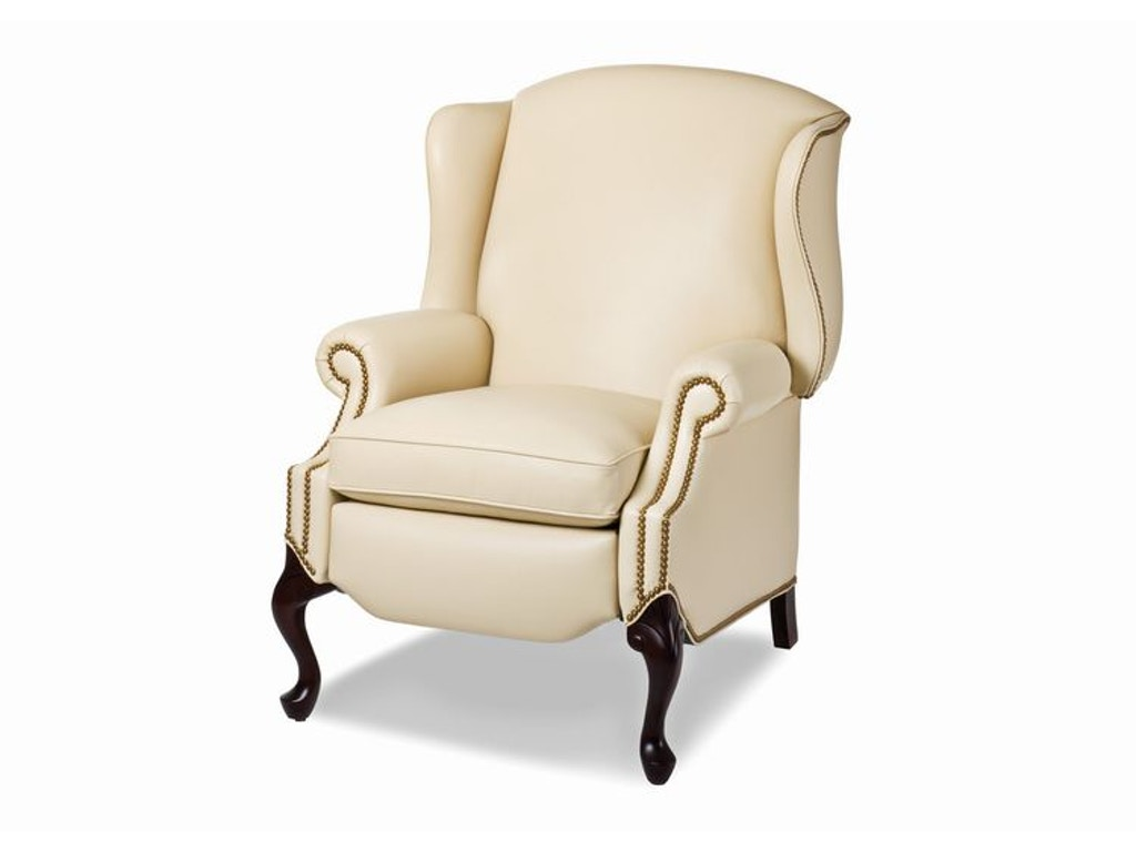 Hancock and moore living room alexander wing chair for Wing chairs for living room