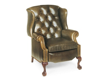 Hancock & Moore Sterling Tufted Wing Chair Recliner