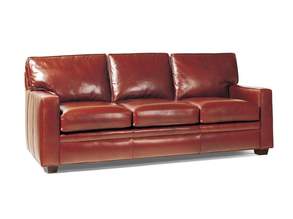 Hancock And Moore Living Room Campaign Sofa 1283 Georgia Furniture Savannah Ga