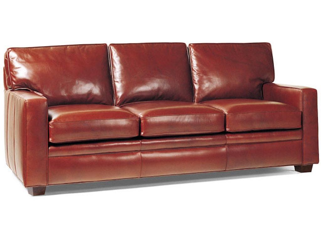 Hancock and moore living room campaign sofa 1283 georgia for Sectional sofas in savannah ga