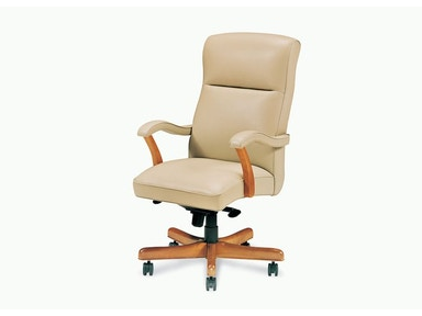 Hancock and Moore Bailey High Back Swivel Tilt Pneumatic Lift Chair 1452ST-PL
