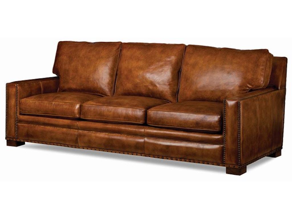 Hancock And Moore Living Room Emilio Sofa 5712 3 Blockers Furniture Ocala Fl
