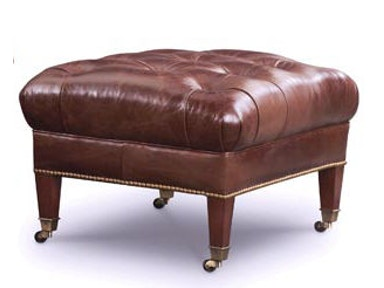 Leathercraft Furniture Collins Ottoman 1143-3