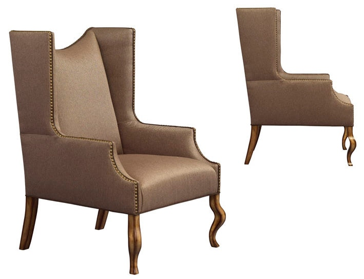 Leathercraft Furniture Living Room Linden Wing Chair 1292 17 Douds Furniture Plumville And