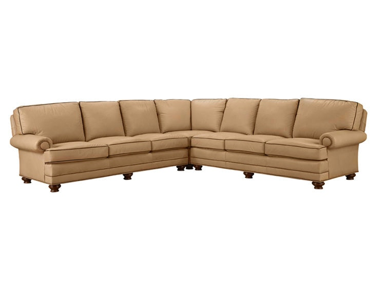 Leathercraft Furniture 2560 1R Garland Right Arm Sofa