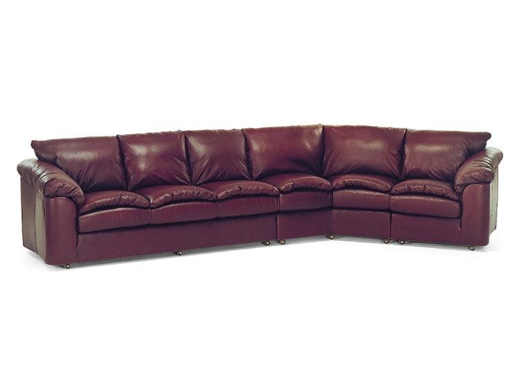 Leathercraft Furniture Living Room 3330 Sectional Studio