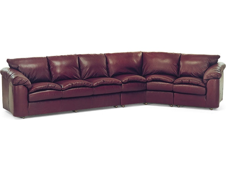 Leathercraft Furniture Living Room Logan Sectional 3330 Sectional