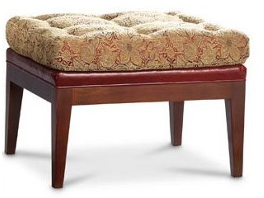 Leathercraft furniture living room norwich ottoman 483 for Furniture norwich