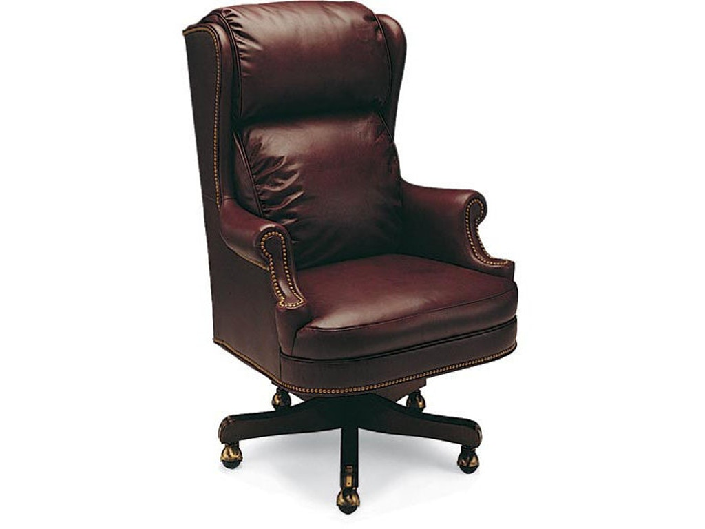 Leathercraft Furniture Home Office Cambridge High Back Tilt Swivel Chair 613 25 Klingman 39 S