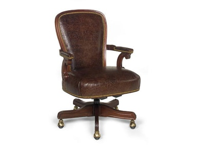 Leathercraft Furniture Wiggins Executive Swivel Chair 693-27