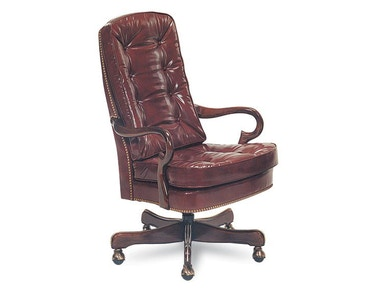 Leathercraft Furniture Geurin Tilt Swivel Chair 707