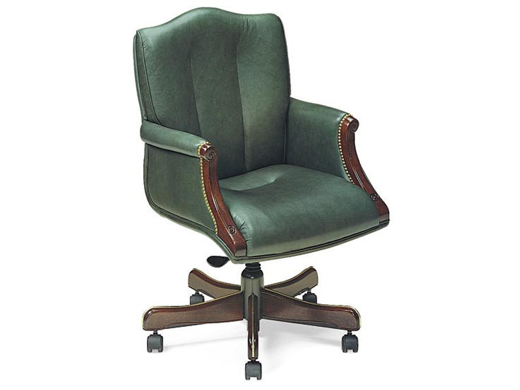 Leathercraft Furniture Home Office Harvard Tilt Swivel