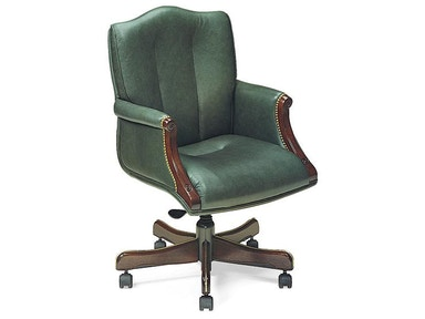 Leathercraft Furniture Harvard Tilt Swivel Chair 7603-UA