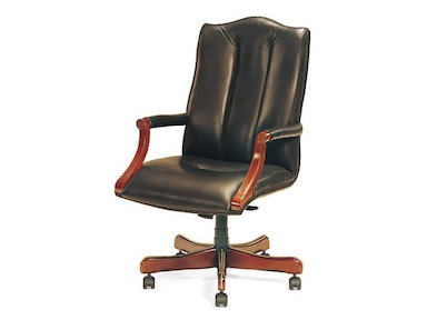 Leathercraft Furniture Harvard High Back Tilt Swivel Chair 7603H-OA