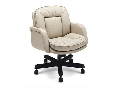 Leathercraft Furniture Huffman Low Back Tilt Swivel Chair 9112