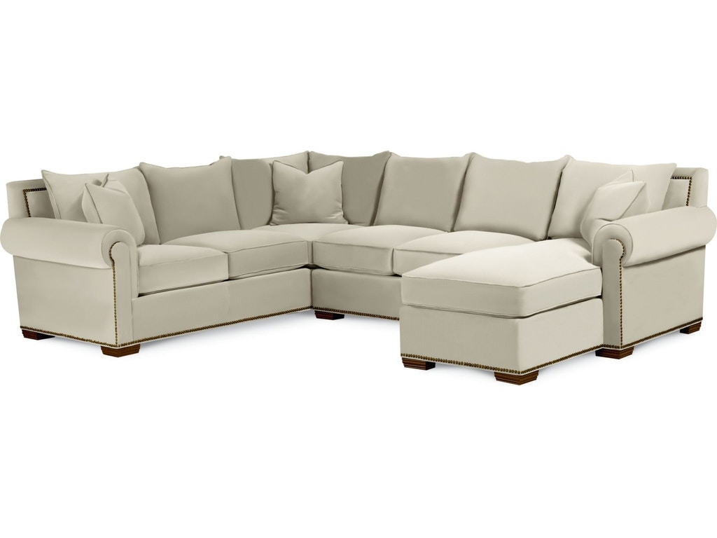 Thomasville Living Room Fremont Sectional 1658 Sect Gibson Furniture Andrews Nc