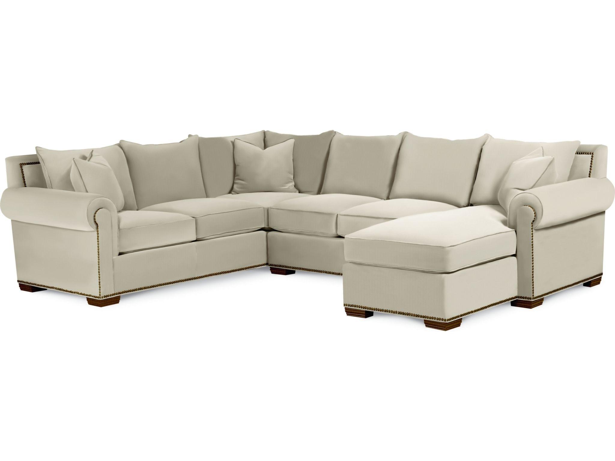 Thomasville Living Room Fremont Sectional 1658 SECT   Bacons Furniture   Port  Charlotte, FL