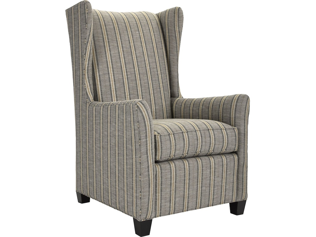 Thomasville living room newcastle wing chair 1840 15 for Living room newcastle