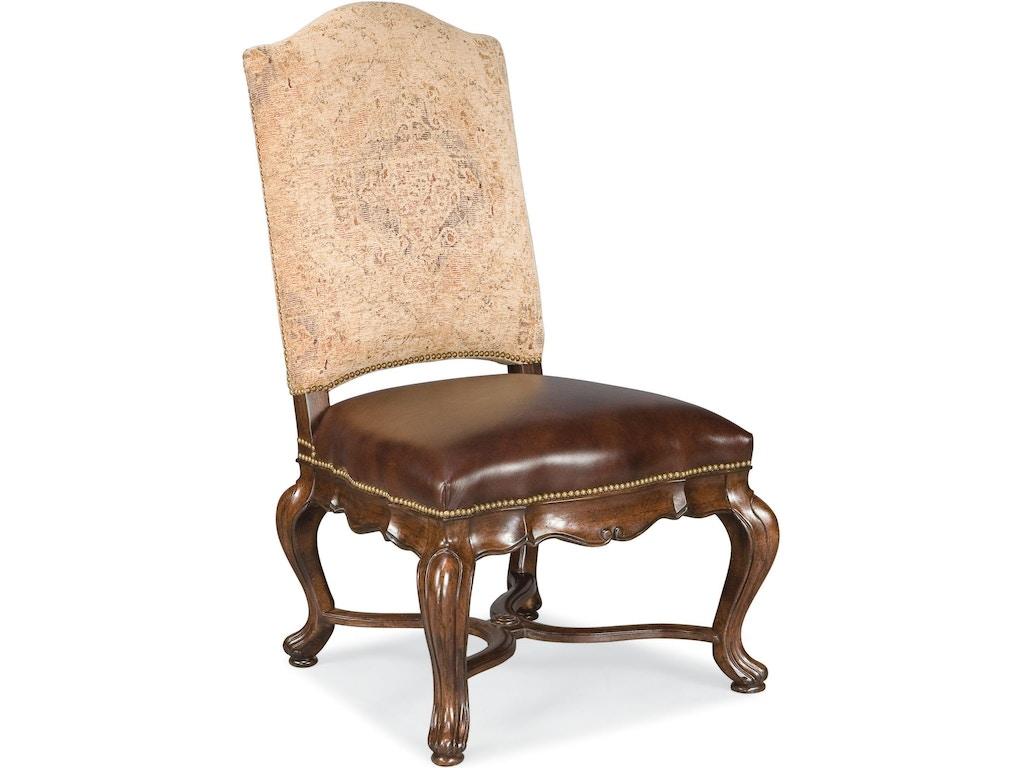 Thomasville dining room bibbiano upholstered side chair for Upholstered dining room side chairs