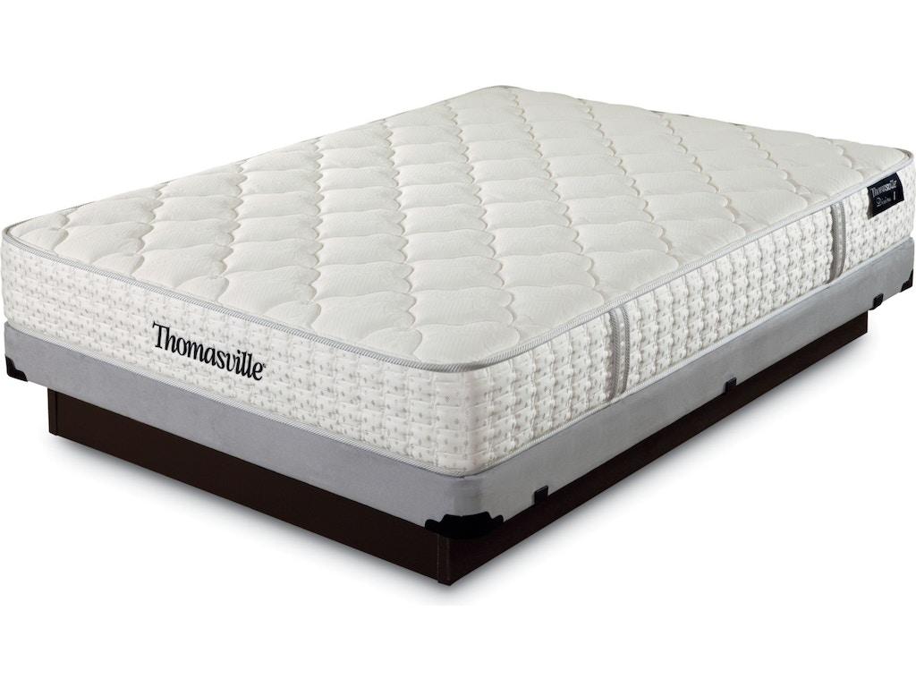 Thomasville Mattresses Twin Mattress Set Divine 1 59701 003 Set Hamilton Sofa Leather