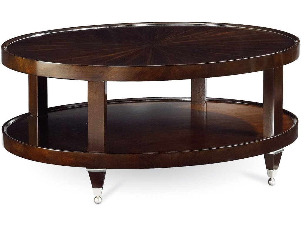 Thomasville Living Room Oval Cocktail Table 82231 140 Drury 39 S Inc Fountain Mn