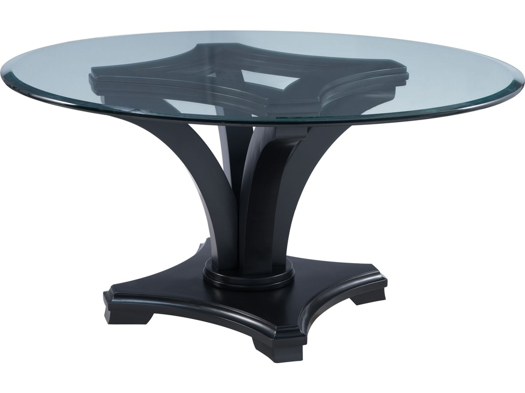 Thomasville dining room round table base 82929 730 priba furniture and interiors greensboro - Thomasville kitchen table ...