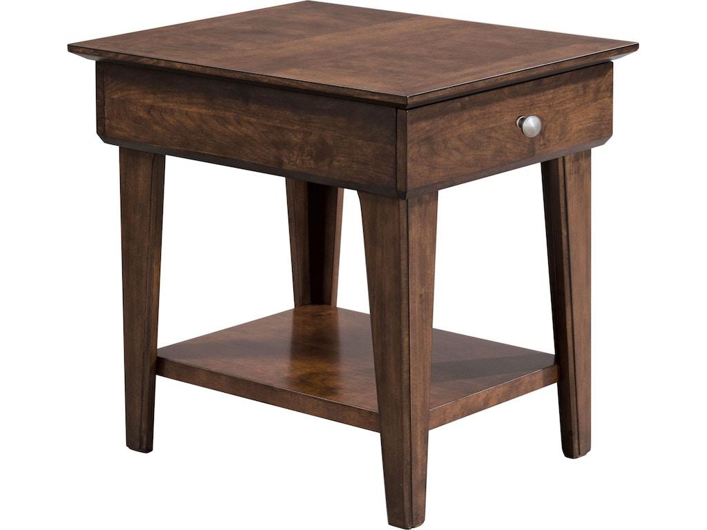 Thomasville Living Room Drawer End Table 85231 210 Ennis Fine Furniture Boise Id Reno Nv