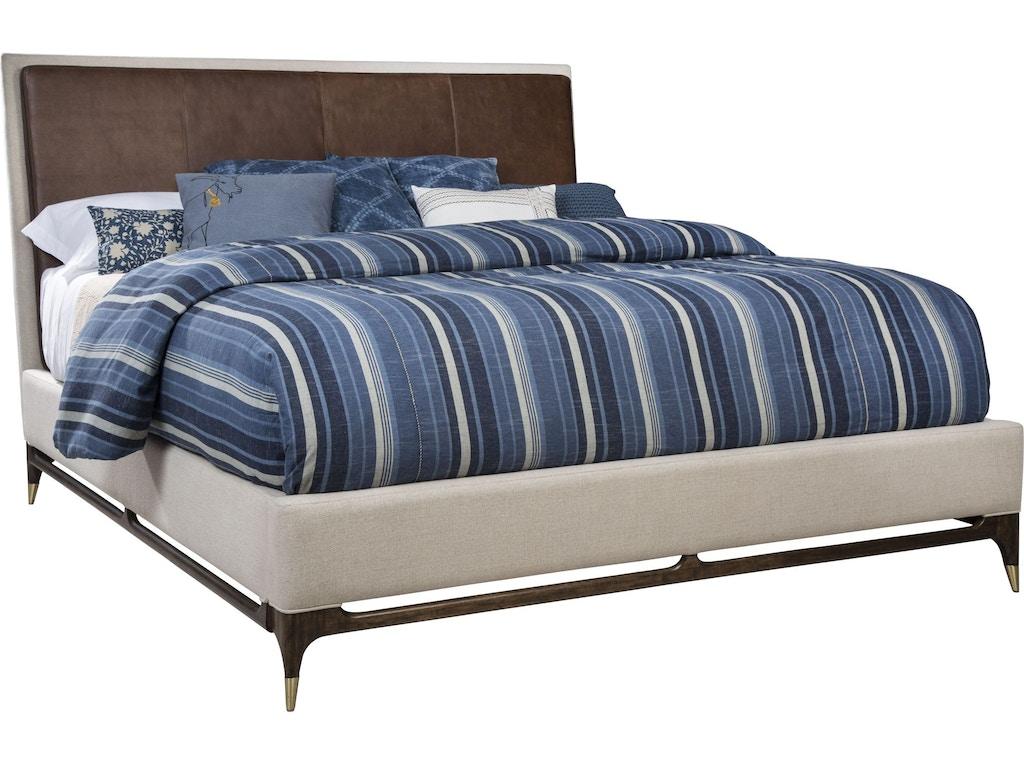 Thomasville bedroom wilshire upholstered bed queen 85811 for Bedroom furniture 98188